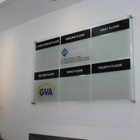 ACADEMY SIGNS Acrylic Perspex GlassLook