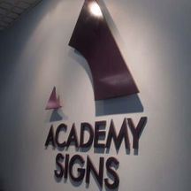 ACADEMY SIGNS Individual Lettering