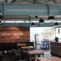 Guinness Storehouse Master Brewers Sign Painted Lettering