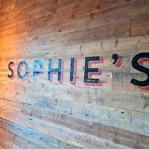 Sophies The Dean Cork Hand Painted Sign Lettering