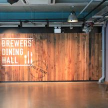 Guinness Storehouse Sign Painted Brewers Dining Hall on Timber